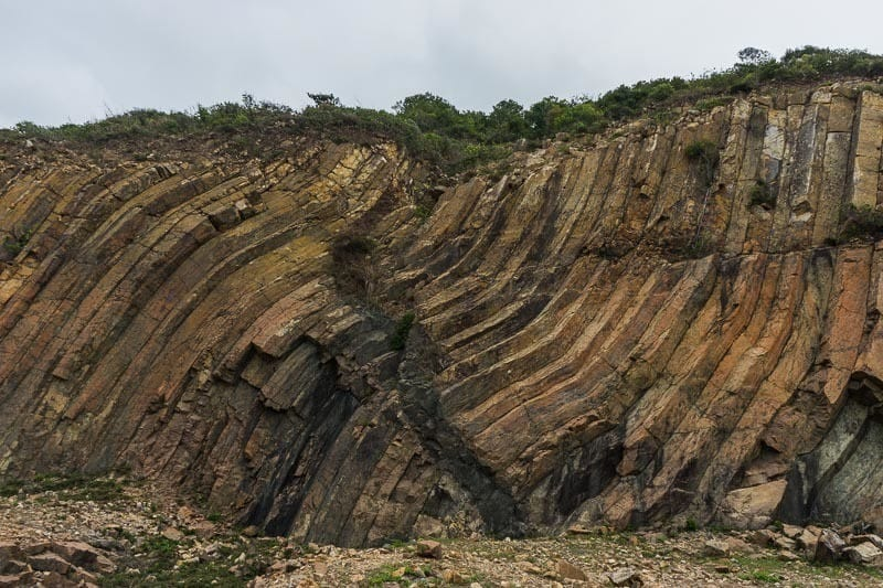 Volcanic Hexagonal Columns Nature Hiking Beaches Free Camping In Hong Kong