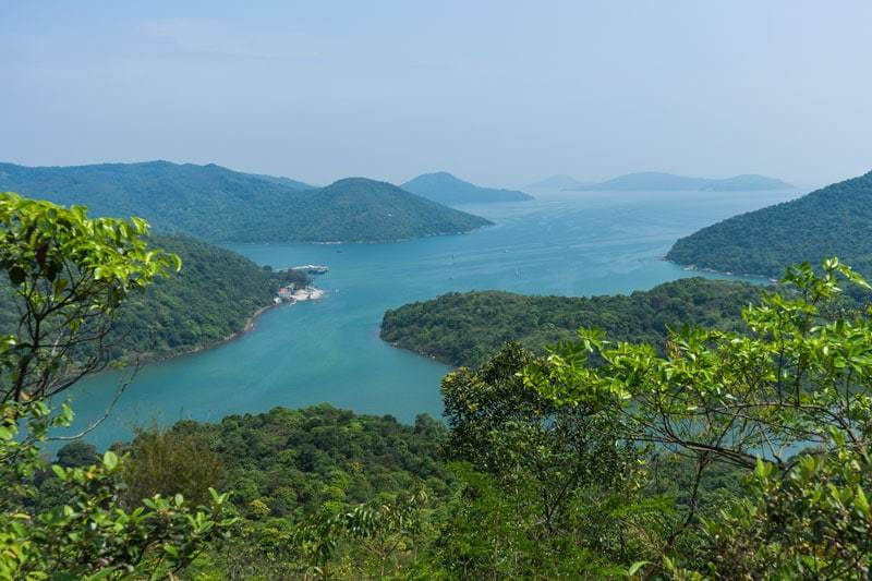 MacLehose Trail Nature Hiking Beach Free Camping In Hong Kong