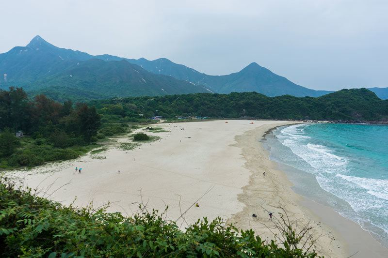 Ham Tin Beach Nature Hiking Beach Free Camping In Hong Kong