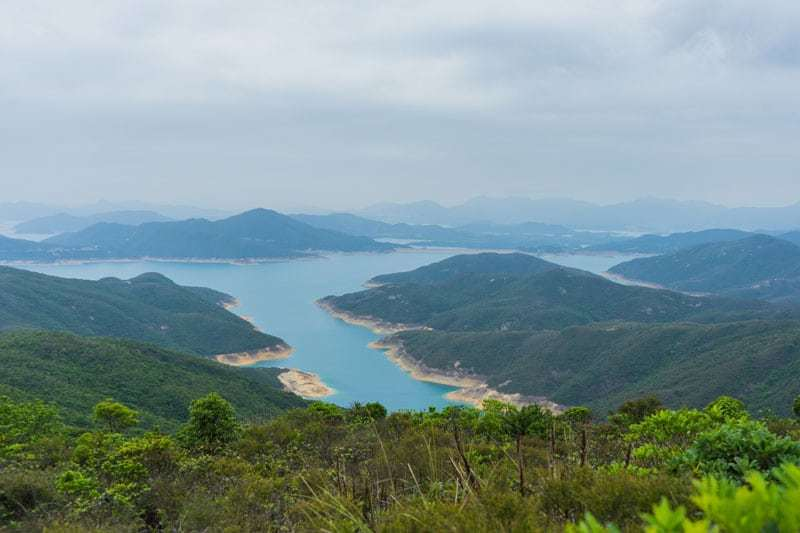 MacLehose Trail Views Beach Hiking Nature Free Camping In Hong Kong