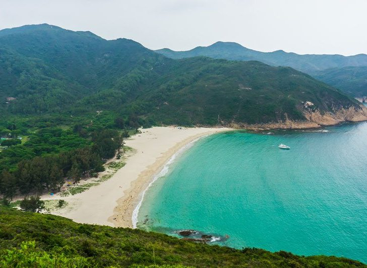 Hiking, Beaches and Free Camping in Hong Kong