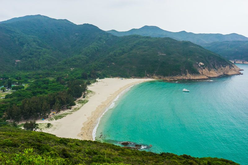 Long Ke Beach Hiking Nature Free Camping In Hong Kong
