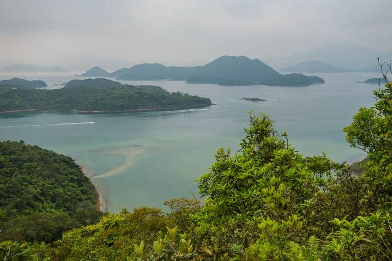 Maclehose Trail Beach Hiking Nature Free Camping In Hong Kong