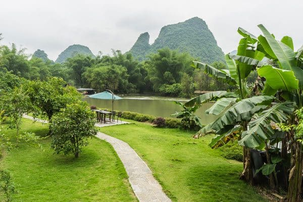View Yangshuo Mountain Retreat Guangxi China Sustainable Tourism Responsible Travel
