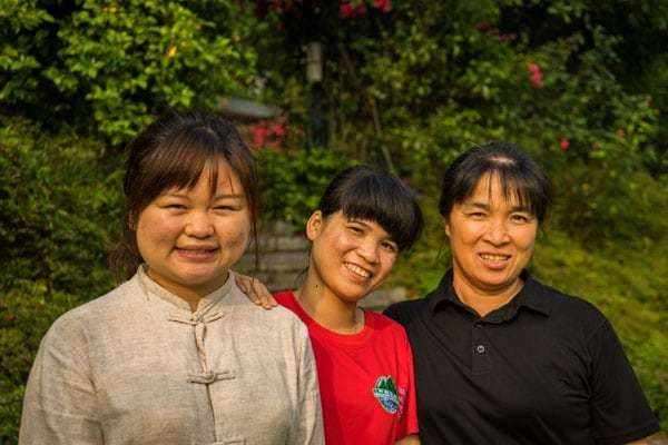Staff Yangshuo Mountain Retreat Eco Lodge Guangxi China Sustainable Tourism Responsible Travel