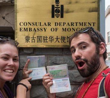 Getting a Mongolian Visa In Beijing Mongoilia Embassy