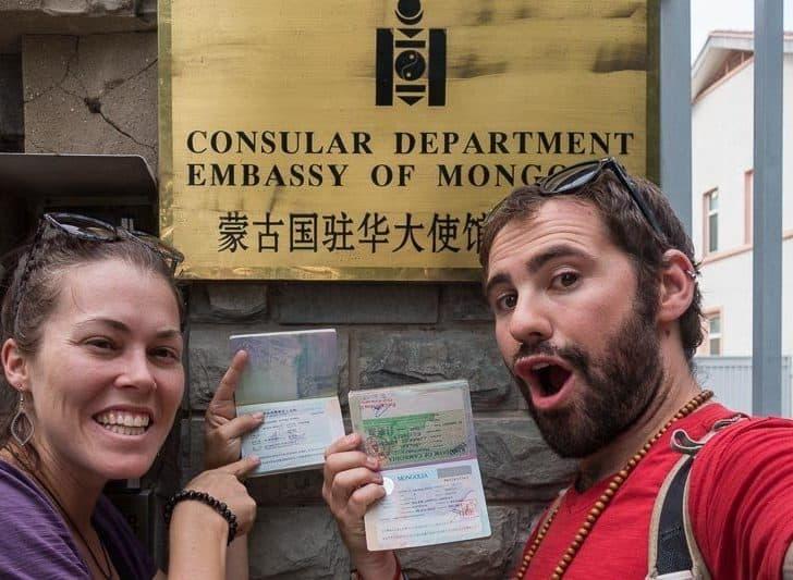 Getting A Mongolian Visa In Beijing, China