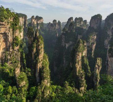 Zhangjiajie National Park Avatar Mountains