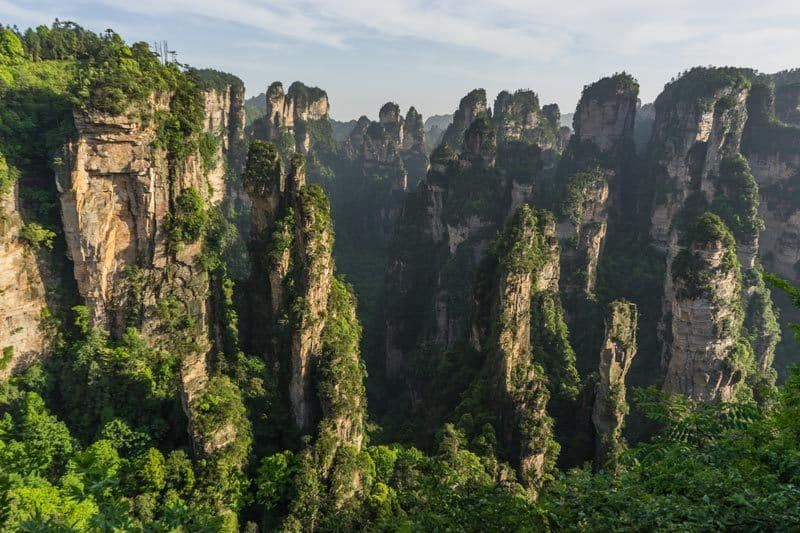 Zhangjiajie National Forest Park Avatar Mountains