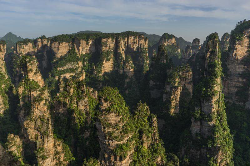 Zhangjiajie National Forest Park Avatar Mountains China