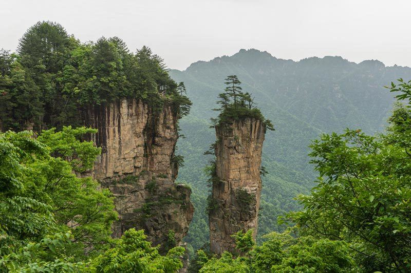 Zhangjiajie National Fores Park Avatar Mountains China