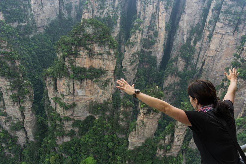 Zhangjiajie National Forest Park Wulingyuan Views