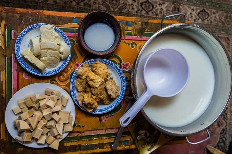 Traditional Food Nomadic Family Nomad Life Mongolia Selena Travel Gobi Desert Tour