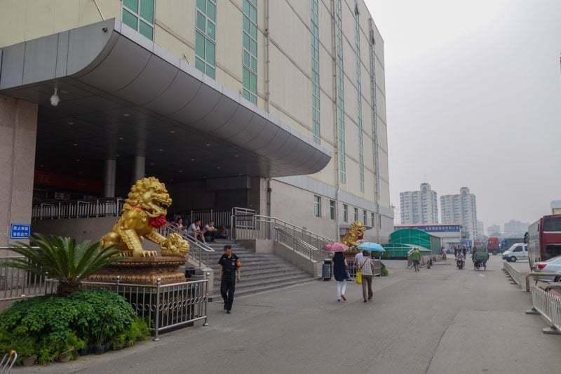 Crossing The Border China To Mongolia Beijing To Ulaanbaatar Black Market Bus Hotel