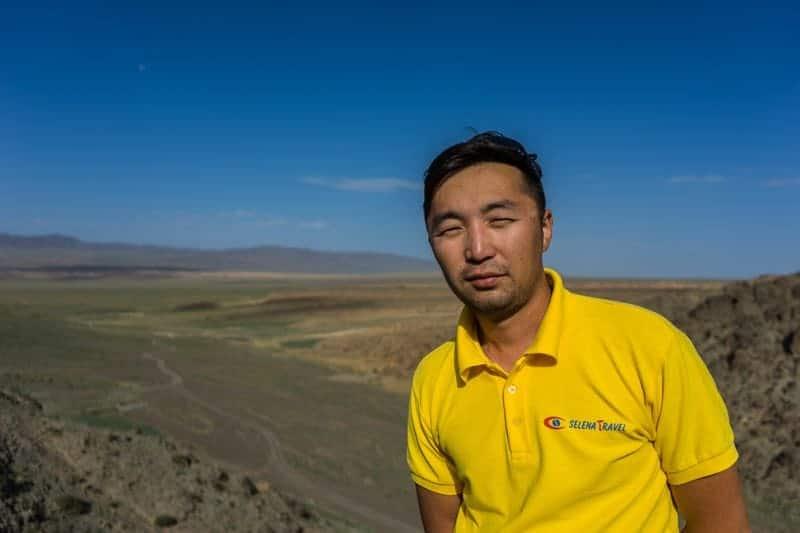 Joe Guide Gobi Desert Tour Mongolia Photo Journal Selena Travel