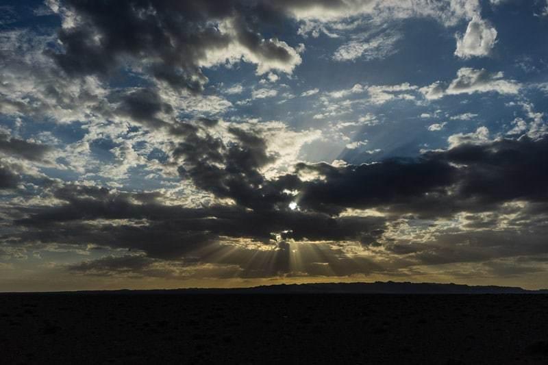 Sunrise Khongor Sand Dunes Gobi Desert Tour Mongolia Photo Journal Selena Travel