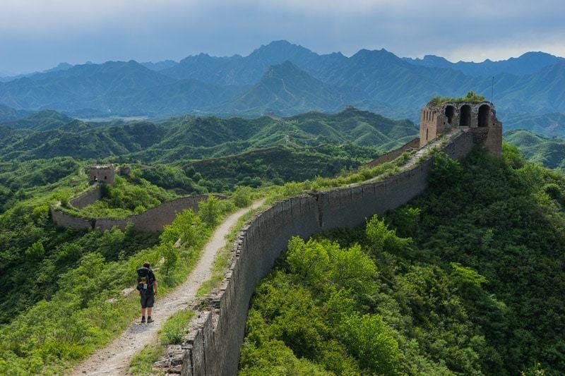 Camping on the great wall of china nomadasaurus for A grande muralha da china