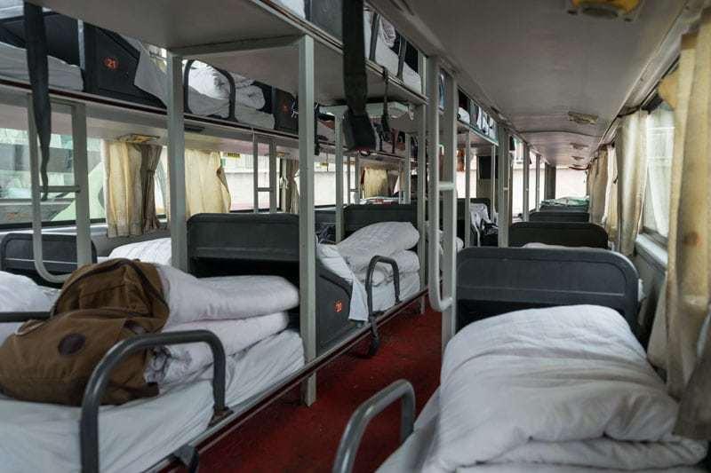 Crossing The Border China To Mongolia Beijing To Ulaanbaatar Sleeper Bus