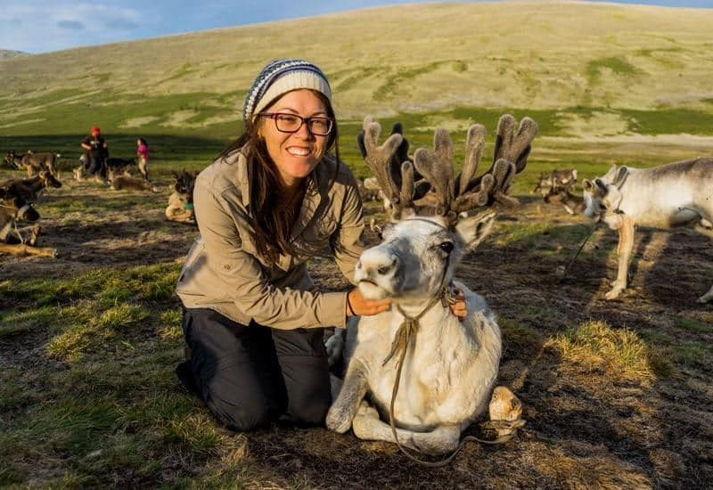Tsaatan Dukha Reindeer Herders Mongolia
