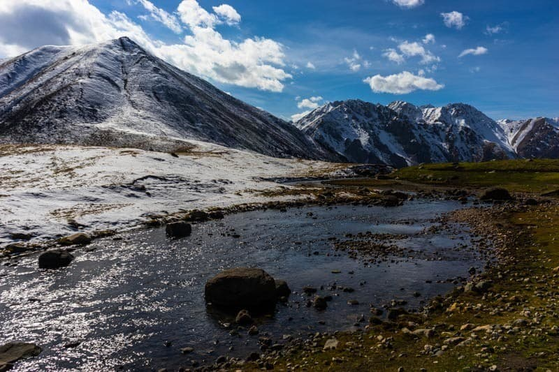 Hiking Altyn Arashan Valley Hot Springs Kyrgyzstan
