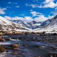 Hiking Altyn Arashan Valley Hot Springs Kyrgyzstan