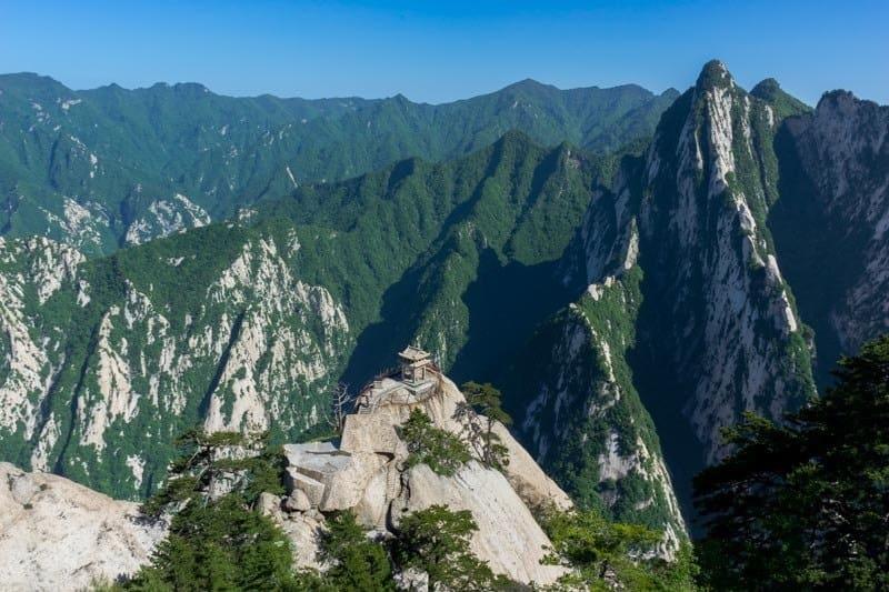 Chess Pavilion Mount Huashan