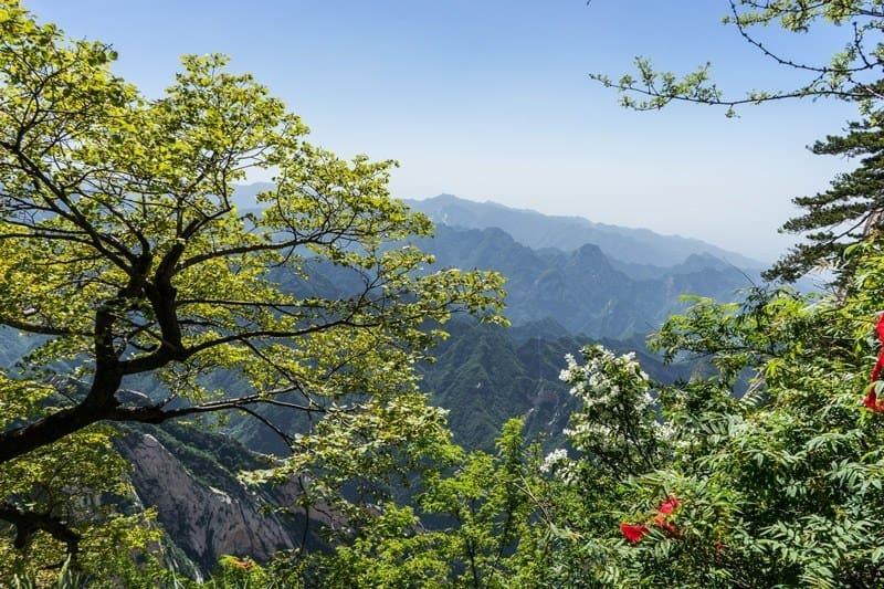 Beautiful Views Mount Huashan