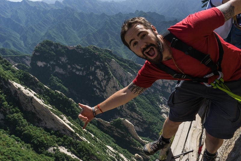 Jazza Edge Hiking Mount Huashan