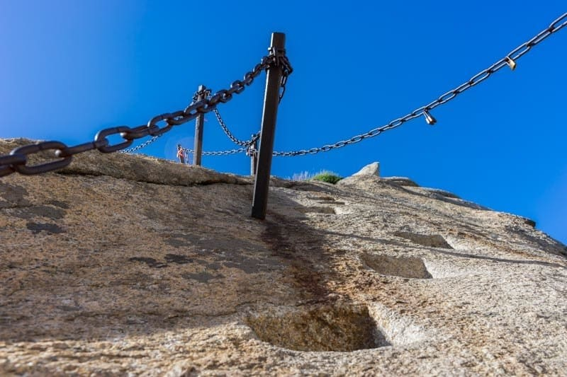 Dodgy Footholds World's Most Dangerous Hike China