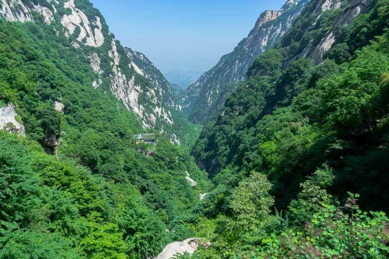 Mount Huashan World's Most Dangerous Hike Plank Walk