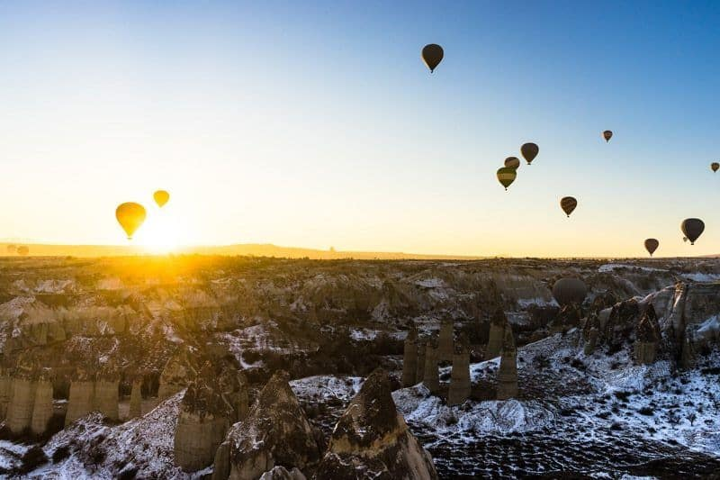 Sunrise Hot Air Ballooning In Cappadocia