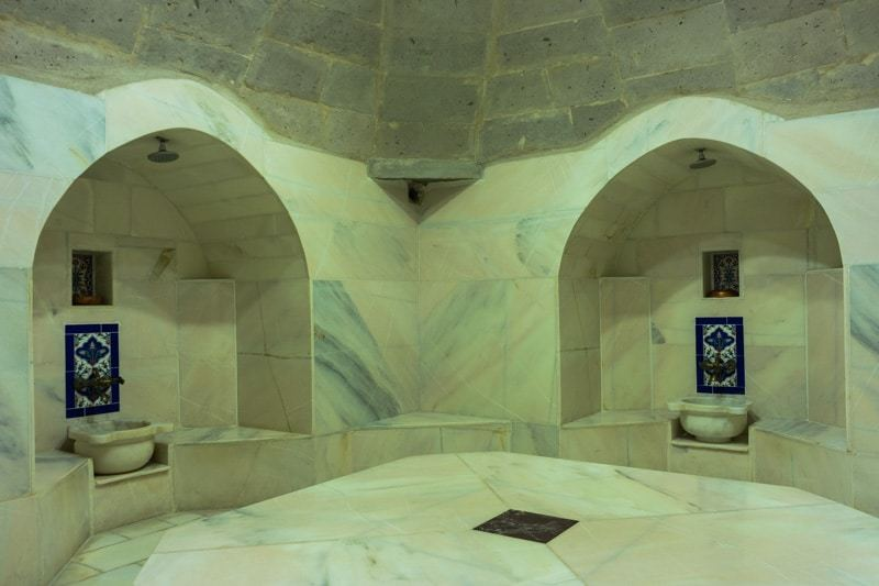Hammam Kale Konak Cave Hotel Uchisar Goreme Best Boutique Hotel Cappadocia