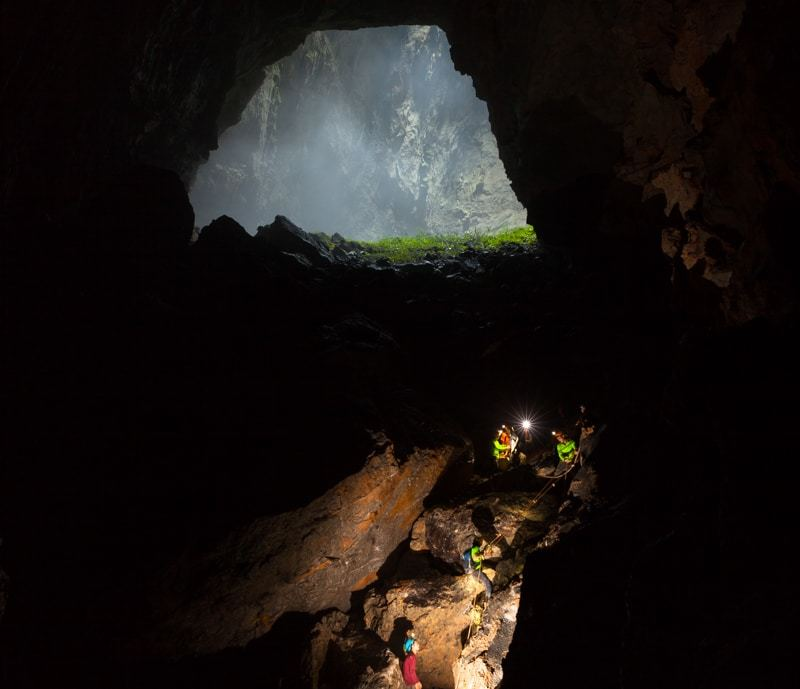 Descending Into The Darkness Hang Son Doong Photography Tour World's Biggest Cave Vietnam Phong Nha
