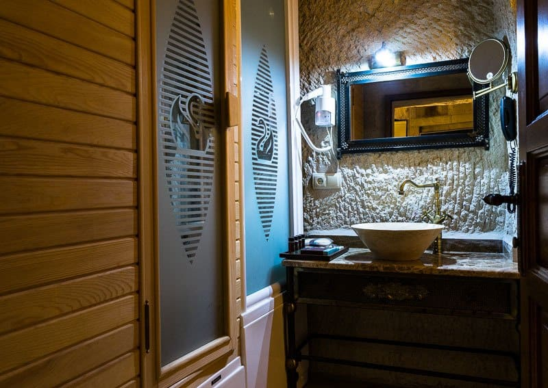 Bathroom Best Accommodation In Goreme Cappadocia Imperial Cave Hotel