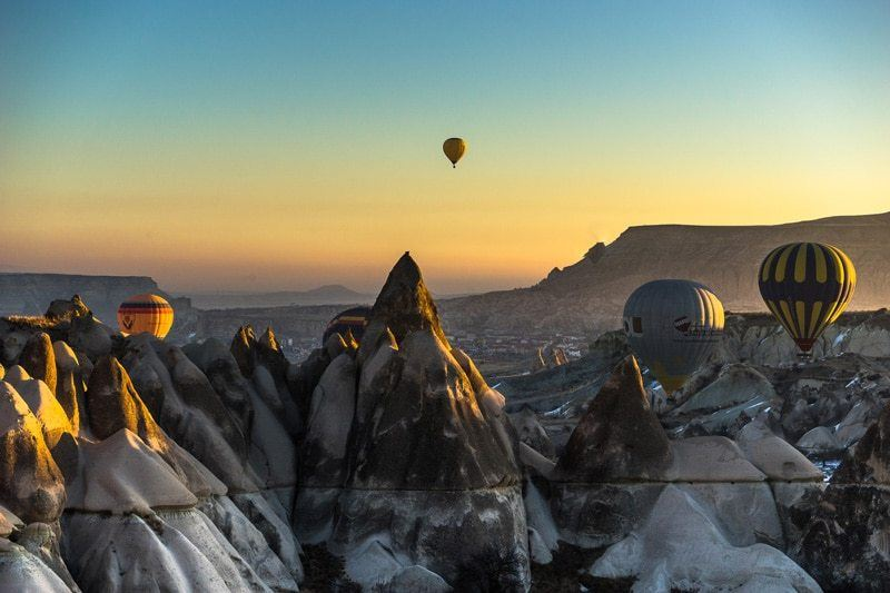 Hot Air Balloon Cappadocia Two Years Travelling
