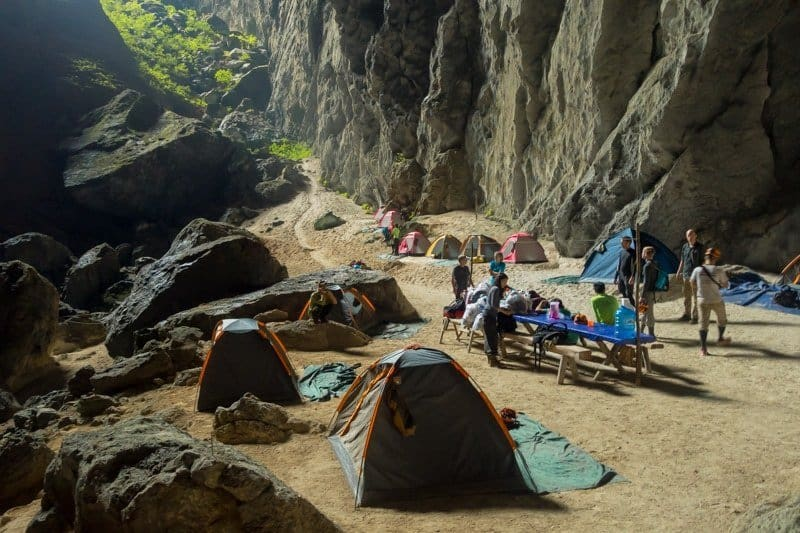 Campsite Hang Son Doong Photography Tour World's Biggest Cave Vietnam Phong Nha