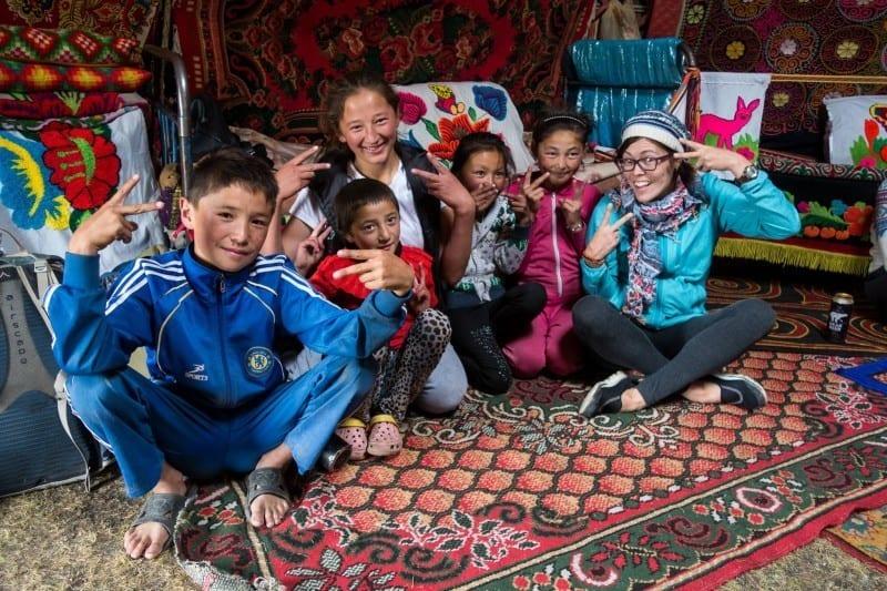 Lesh Kazakh Kids Western Mongolia