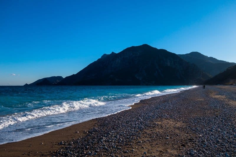 Beach Olympos Turkey