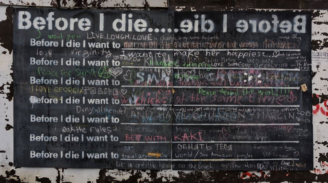 Before I Die Street Photography In Tbilisi