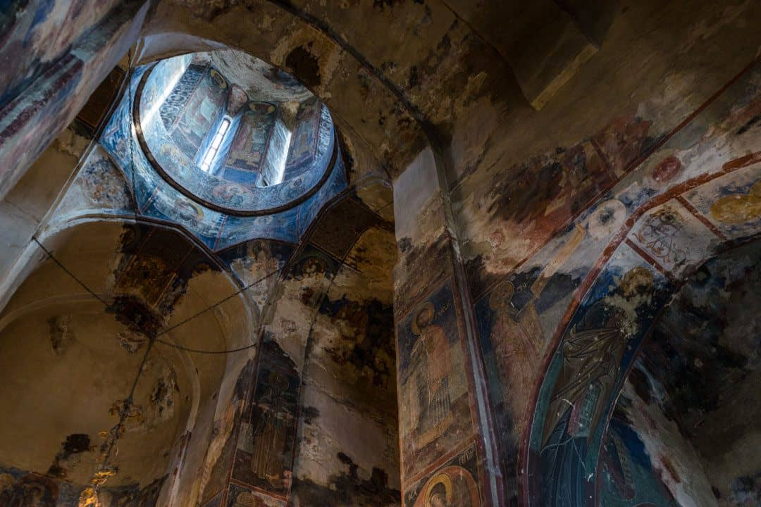 Church Interior Street Photography In Tbilisi