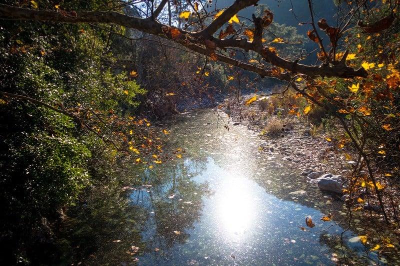River Bed Olympos Turkey