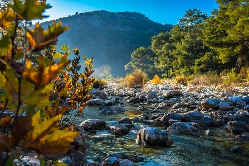 Olympos River Turkey