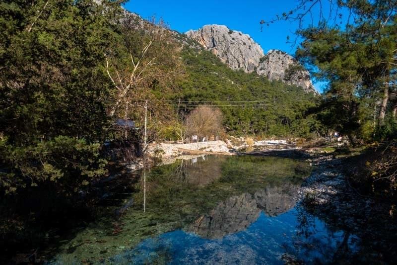 River Olympos Turkey