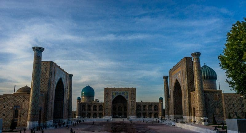 Registan Samarkand Uzbekistan 2 Years Travelling