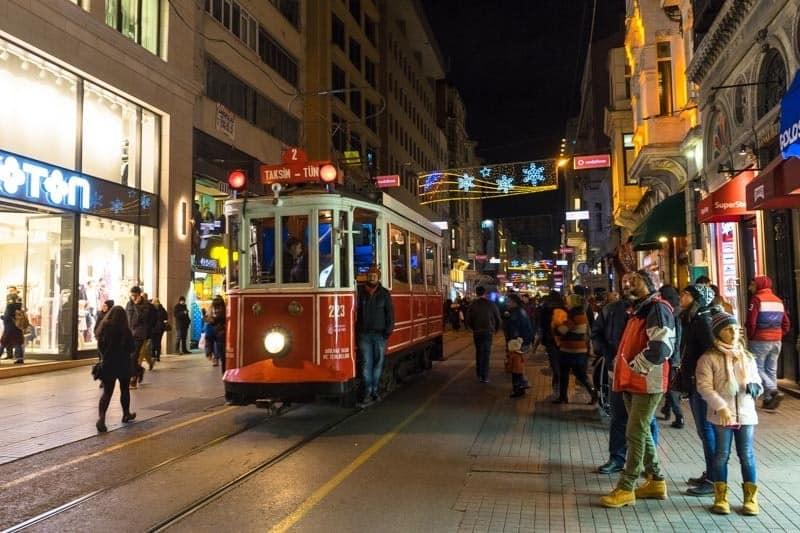 Tram Pedestrian Street Peradays Best Boutique Hotel In Istanbul