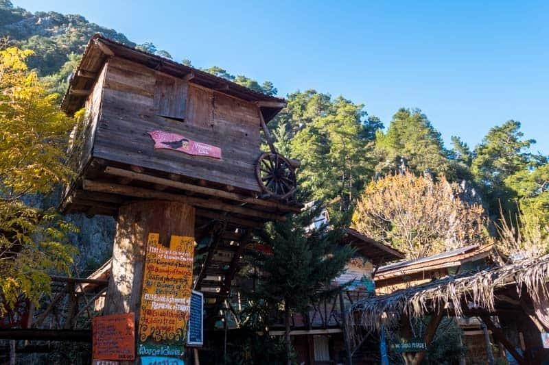 Kadir's Treehouses Olympos Turkey