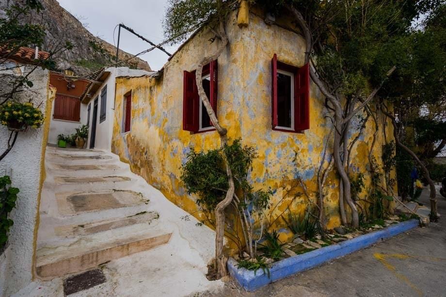Anafiotika Neighbourhood Things To Do In Athens