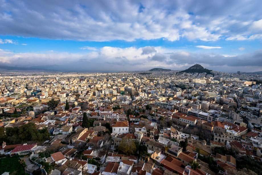 City Views Street Scenes Of Athens