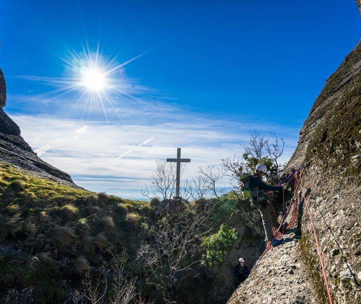 Conquering The Great Saint Via Ferrata In Meteora