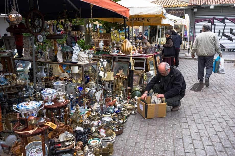 Monastiraki Flea Market Things To Do In Athens